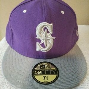 Seattle Mariners fitted cap (7&1/2).